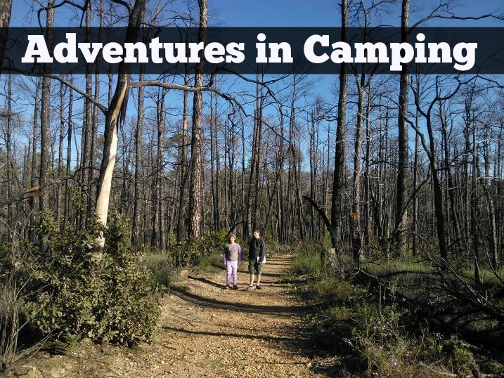 adventures in camping
