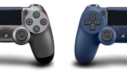 New PS4 Controller Colors Midnight Blue and Steel Black