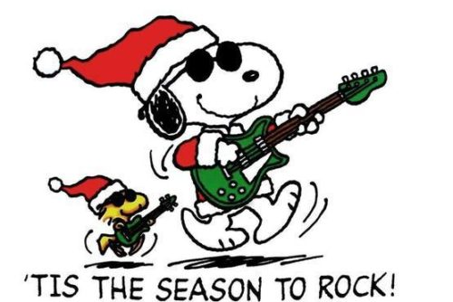 snoopyrockinchristmas - Snoopy Christmas Song